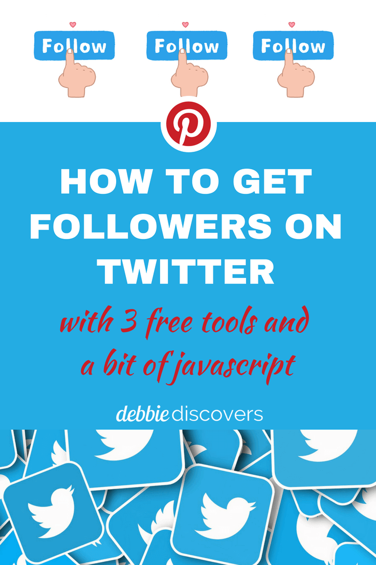 How to get followers on Twitter - Pin This!